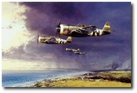 Thunderbolt Strike by Robert Taylor (P-47)