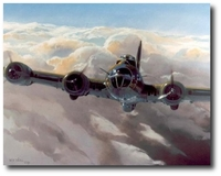 Tough and Ready, the Memphis Belle by Rich Thistle (B-17F)