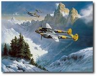 Tribute to a Lockheed Classic by Heinz Krebs (P-38 Lightning)