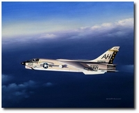 Twilight Gator by Mike Machat (F-8 Crusader)