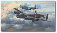 Two's Company by Philip West (Lancaster & Mosquito)