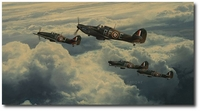 Undaunted by Odds by Robert Taylor (Hawker Hurricane)