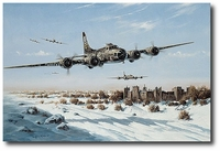 Wild Children by Heinz Krebs (B-17 Flying Fortress)
