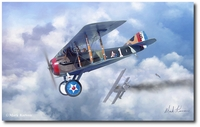 Winds of October by Mark Karvon (Spad XIII)