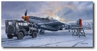 Winter of '45 by Philip West (P-51 Mustang)