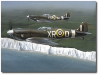 With Glory Gained and Duty Done by Darrell White (Spitfire)