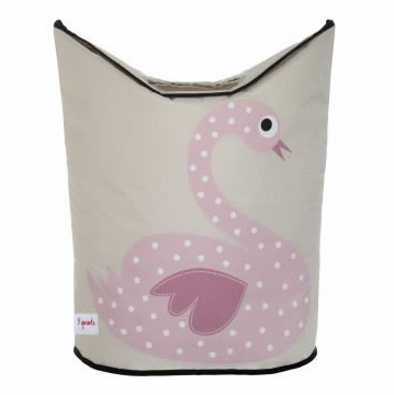 3 Sprouts Hamper in Swan Pink