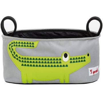 3 Sprouts Stroller Organizer in Crocodile