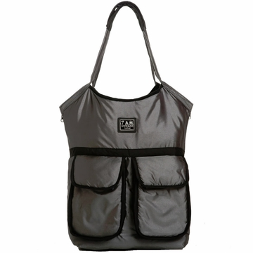 7 A.M. Enfant Barcelona Bag - Metallic Silver