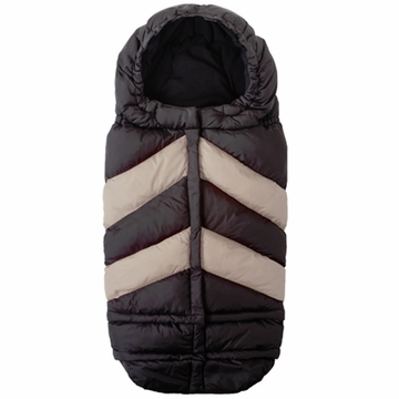 7 A.M. Enfant Blanket 212 Chevron - Black/Beige