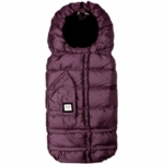 7 A.M. Enfant Blanket 212 Evolution in Mettallic Plum