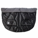 7 A.M. Enfant Duo Double Stroller Blanket - Metallic Charcoal