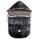 7 A.M. Enfant Le Sac Igloo Medium Baby Bunting in Black