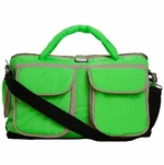 7 A.M. Enfant Voyage Bag, Small - Neon Green
