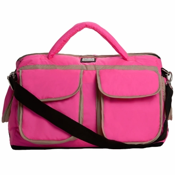 7 A.M. Enfant Voyage Bag, Small - Neon Pink