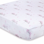 Aden + Anais 100% Cotton Muslin Crib Sheet - For the Birds (Owls)