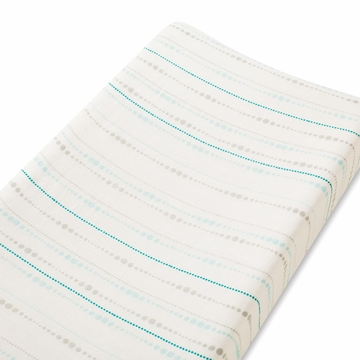Aden + Anais Bamboo Changing Pad Cover - Azure, Beads