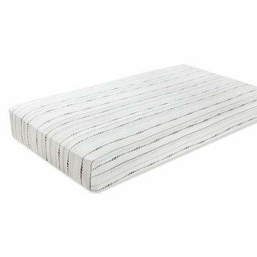 Aden + Anais Bamboo Crib Sheet - Moonlight, Beads