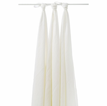Aden + Anais Bamboo Muslin Swaddling Blankets, 3 Pack - Earthly