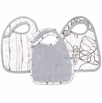 Aden + Anais Bamboo Snap Bibs - 3 Pack - Moonlight