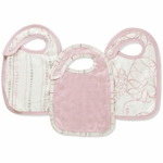 Aden + Anais Bamboo Snap Bibs - 3 Pack - Tranquility