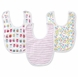 Aden + Anais Little Bib, Zutano - 3 Pack - Walk in the Park