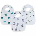 Aden + Anais Snap Bibs - 3 Pack - Jungle Jam