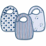 Aden + Anais Snap Bibs - 3 Pack - Prince Charming