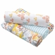 Aden + Anais Swaddle Wrap 4 Pack, Zutano - Sunday Drive