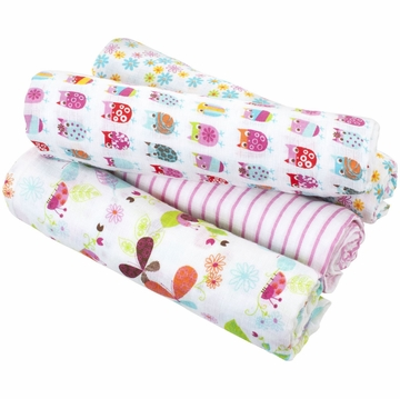 Aden + Anais Swaddle Wrap 4 Pack, Zutano - Walk in the Park