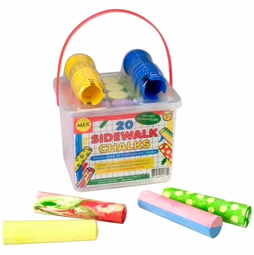 Alex Toys 20 Sidewalk Chalks