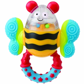 Alex Toys Click Clack Bee Rattle