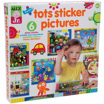 Alex Toys Tots Sticker Pictures