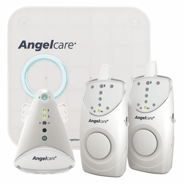 Angelcare AC605 Movement and Sound Monitor with 2 Parent Units