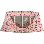 Angelcare journeyBee Portable Crib in Polka Dot