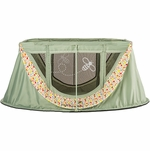 Angelcare journeyBee Portable Crib in Sage