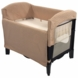 Arm's Reach Ideal Co-Sleeper in Black/Toffee