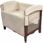 Arm's Reach Ideal Co-Sleeper in Cocoa/Natural