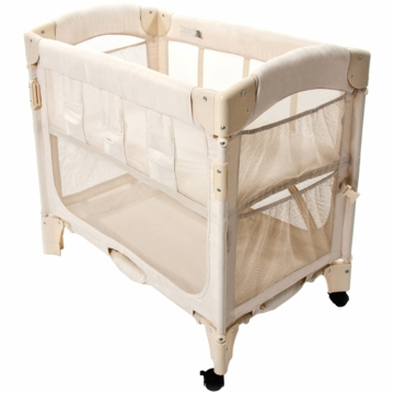 Arm's Reach Mini Arc Co-Sleeper in Natural