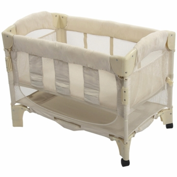 Arm's Reach Mini Arc Co-Sleeper in Natural Euro