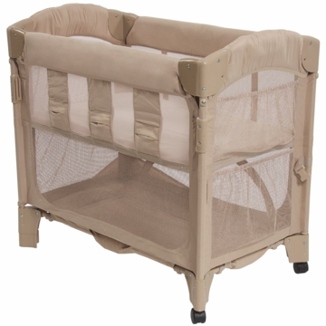 Arm's Reach Mini Arc Co-Sleeper in Toffee