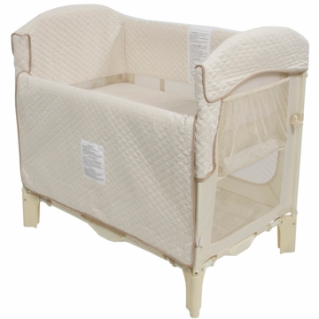 Arm's Reach Mini Arc Convertible Co-Sleeper in Natural