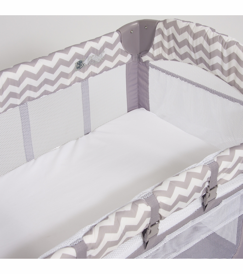 Arm S Reach Mini Arch Co Sleeper In Chevron