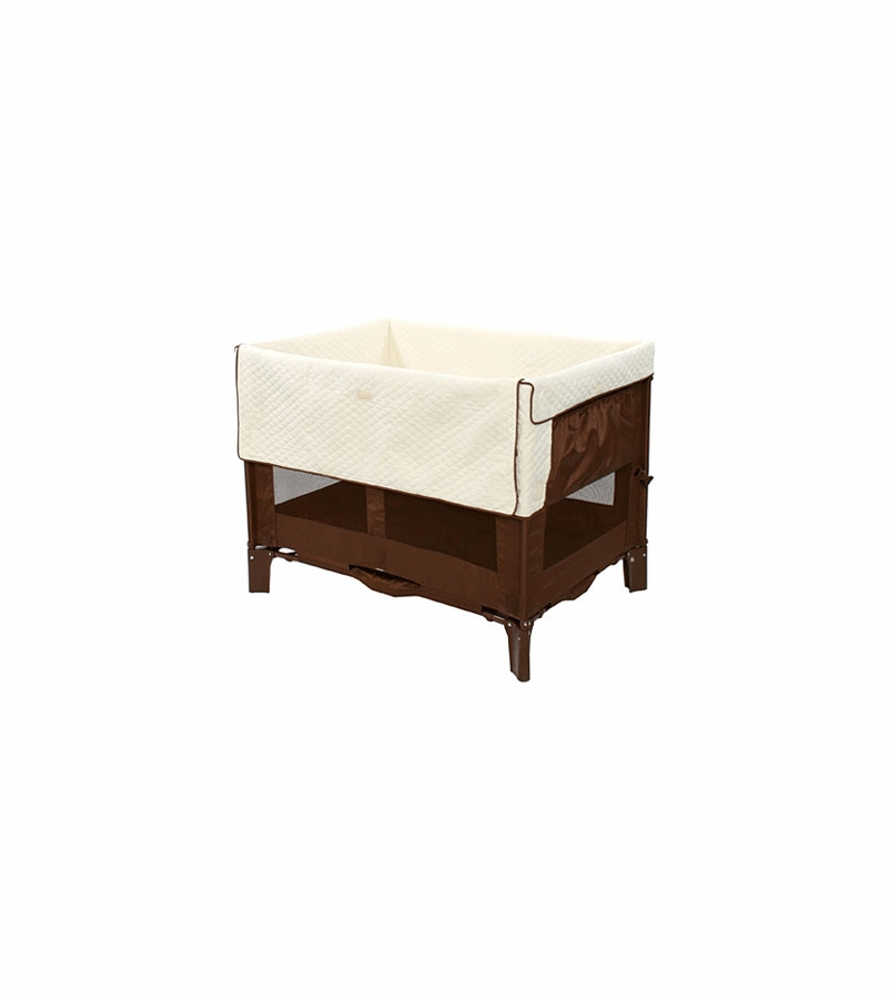 Arm S Reach Original Co Sleeper Bassinet In Cocoa With