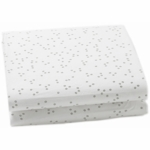 Auggie Changing Pad Cover in Grey
