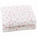 Auggie Changing Pad Cover in Pink