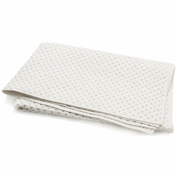Auggie Cross-Stitch Twin Quilt in Grey