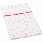Auggie Pillow Case in Little Flutter Pink