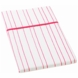 Auggie Pillow Case in Painted Stripe Pink