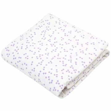 Auggie Twin Flat Sheet in Astrid Lilac